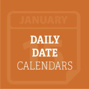 Daily Date Calendars