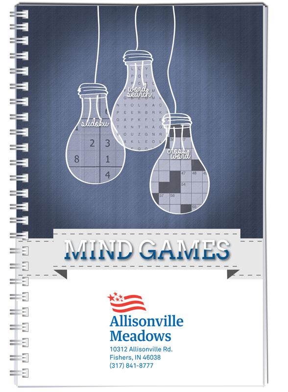 Brain Games puzzle book cover