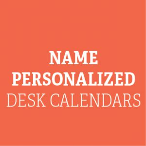 Name Personalized Desk
